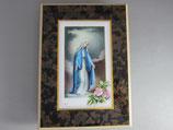 板絵 卓上 無原罪の聖母 15.5×11センチ 板厚み12ミリ
