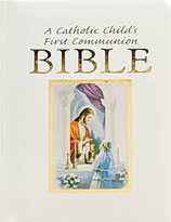 英語 A Catholic Child's First Commuion BIBLE  ギフトパッケージ