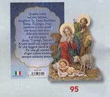 FB NATALE イタリア製 マグネット 聖家族 8337-95 6、5×6センチ