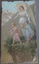 イタリア ご絵 Eucaristina 024 10.7×6センチ 飾り縁箔押し 紙裏白