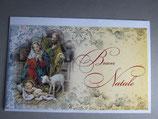 イタリア製 クリスマスカード 定型小型 C1627