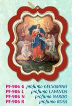 イタリア FB PFー906-R 香りシート 結び目を解く聖母 ローズ