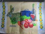 マルタ共和国 壁掛け ウサギ料理 70×49