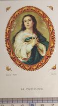 ご絵 絵画 LA PURISSIMA B-13 11,5×6.7センチ 紙裏白