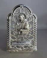 サンジョバンニロトンド 聖ピオ 卓上金属たて A 高さ7.8センチ 長