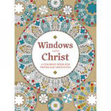 Windows into Christ  Windows Into Christ: A Coloring Book for Prayer and Meditation  英語塗り絵