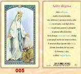 イタリア ご絵 FB SERIE 801-005 無原罪の聖母 6.4×11.4センチ パウチカード OPP袋入り