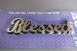 プラ立体 Blessed マーク 13×4.3センチ
