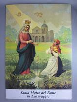 ご絵 カラバッジョの聖母 29.5×21センチ 厚紙