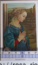 ご絵 聖母マリア 絵画 A-1 ADORATION(礼拝)