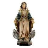 イタリア 樹脂製 メダルの奇跡 マリア像8 cm