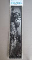 欧州 布製刺繍しおり イエス 22.5×5センチ 布しおり 1912-10