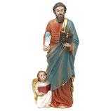 ご像 樹脂 福音使徒聖マテオ 20センチ Saint Matteo Statue, 20 cm in resin