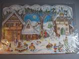 アドベントカレンダー クリスマスの村 59081