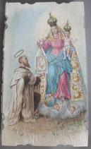 イタリア ご絵 Eucaristina 聖シモーネ 035 10.7×6センチ 飾り縁箔押し 紙裏白