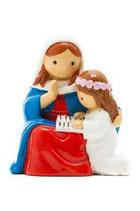 LDW 160036YX   Saint Anne   statue   聖アン(と幼きマリア)