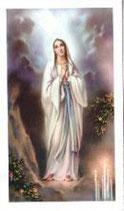 ご絵 ルルドの聖母 A