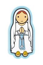 LDW かわいい冷蔵庫用マグネット ルルドの聖母 887018