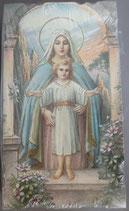 イタリア ご絵 Eucaristina 010 10.7×6センチ 飾り縁箔押し 紙裏白