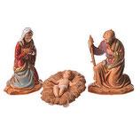 イタリア Moranduzzo3.5cmによるキリスト降誕のシーン聖家族