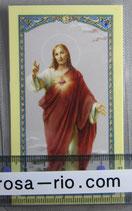 イタリア パウチご絵 みこころのイエスD 11×7センチ