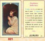 イタリア ご絵 FB SERIE 801-021 サムエル 6.4×11.4センチ パウチカード OPP袋入り