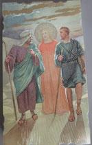 イタリア ご絵 Eucaristina 028 10.7×6センチ 飾り縁箔押し 紙裏白