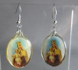 ピアス カルメルの聖母  ステンレスピアス 2×3㎝