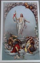 ご絵 イエス復活  14×9センチ 75