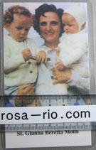 イタリア パウチご絵  聖ジアンナベレッタモーラ 聖GIANNNA 11、5×7センチ