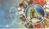 イタリア製 クリスマスカード 定型小型 110-6