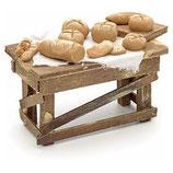 ナポリのキリスト降誕のシーンのアクセサリー、パン屋台