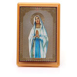 マグネット プレキシガラス マグネット ルルドの聖母 10x7cm MS000053