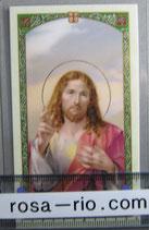 イタリア パウチご絵 みこころのイエスC 11×7センチ