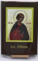 イコン 聖アルビナ