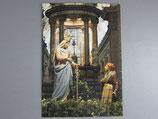 イタリア カラヴァッジョの聖母 大判絵ハガキB