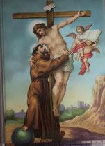 ポストカード15.4×10センチ フィデス G-1 イエスと聖フランシスコ
