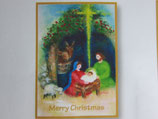 女子パウロ会 クリスマスカード 15.5×11センチ 封筒つき 23205