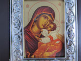 バチカンサンピエトロ大聖堂 優しさの聖母壁掛け 枠サイズ10.7×10センチ