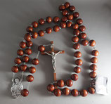 サンジョバンニロトンド 聖ピオ神父 特大ロザリオ センター聖ピオ20ミリ珠