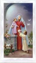 イタリア ご絵 聖母と子ども 089