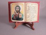 アルメニア 聖書飾りイコン イイスス祝福 10×8センチ