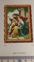ご絵 絵画 GESU CON PARGOLI B-4 11,5×6.7センチ 紙裏白