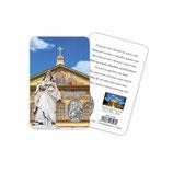 イタリア 日本語 メダイ付きカード 聖パウロの祈り