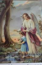 ご絵 手判 守護の天使A C-23 14×9センチ 紙裏白