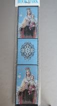 欧州 布製刺繍しおり カルメルの聖母 22.5×5センチ 布しおり 1912-7