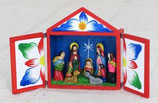 メキシコ ペルー 聖家族 箱入り レタブロ小