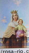 ご絵 カルメルの聖母 10×5.5㎝ 裏白