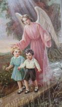 イタリア ご絵 RENI 1224 10×6センチ 紙裏白 洗礼