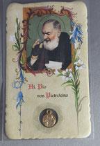 サンジョバンニロトンド 聖ピオ神父 祈りカード聖ピオメダイつき ドイツ語